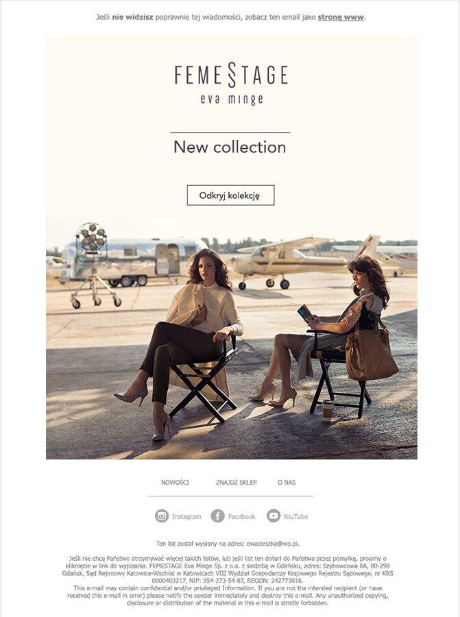 New collection Femestage Eva Minge